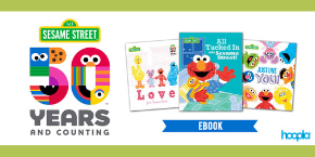 Image of Sesame Street linking to Hoopla
