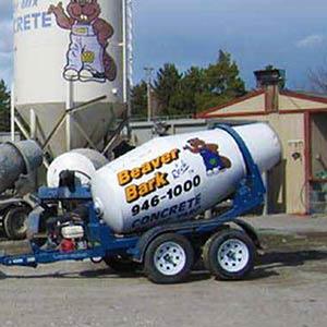 Concrete Mixing Buggie