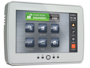 Touch Screen Keypad allows you to scoll though menu items for your alarm with merely a touch of your finger, no keys to press!