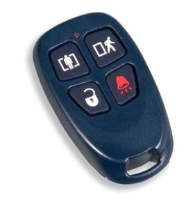 Wireless remotes allow you the convenience of arming and disarming your alarm remotely