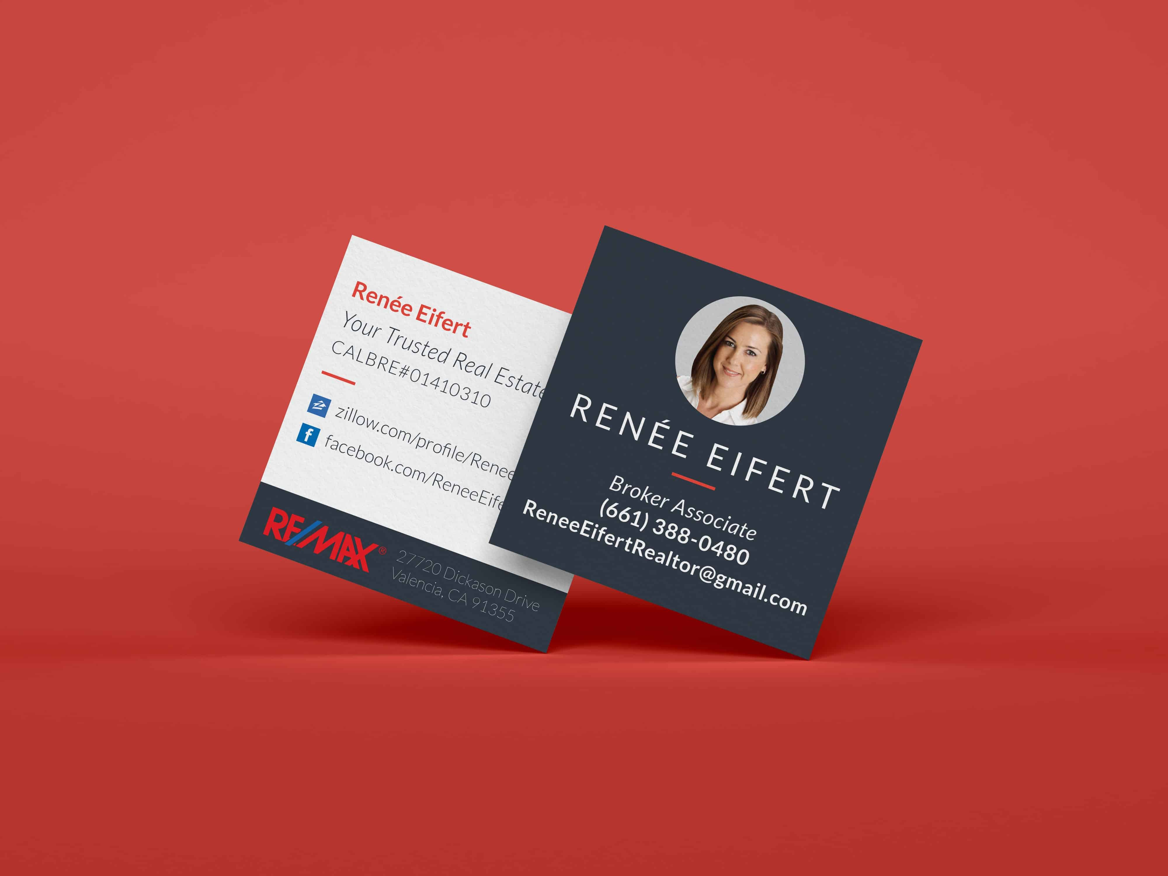 Renee Square Business Cards