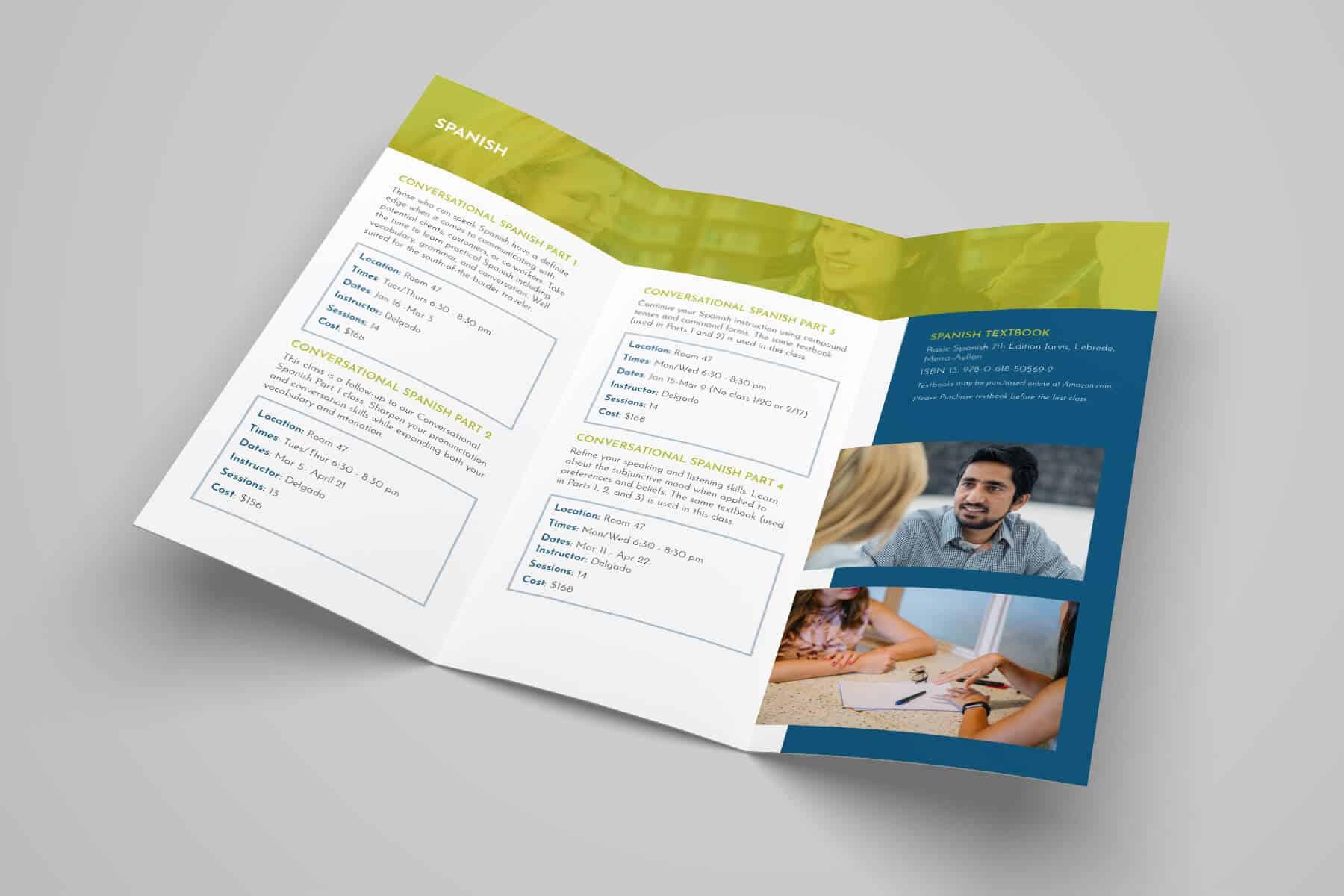 San Mateo Adult & Career Education Brochure