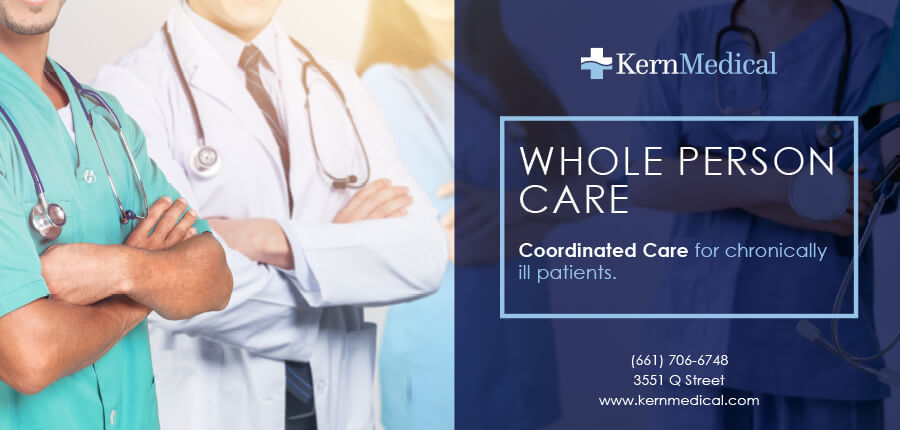 Kern Medical Whole Person Care Bus Advertising