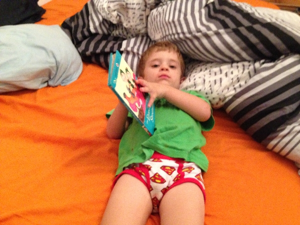07.01- lounging and reading
