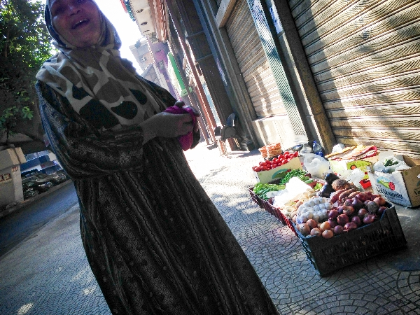 07.06- my favorite vegetable seller