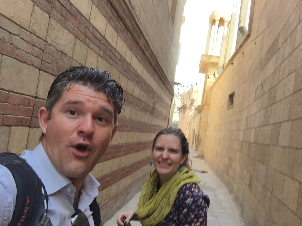 11.19-Exploring coptic Cairo with my love
