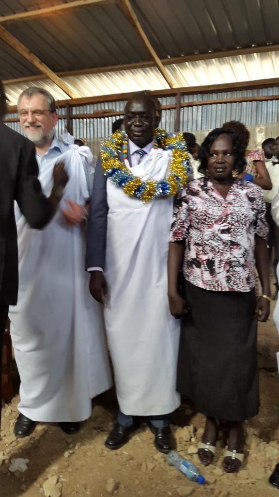 Graduation of Rev. Dr. Francis Ayul