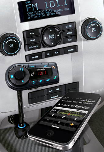Livio Radio in Car Hands Free and Streaming Audio