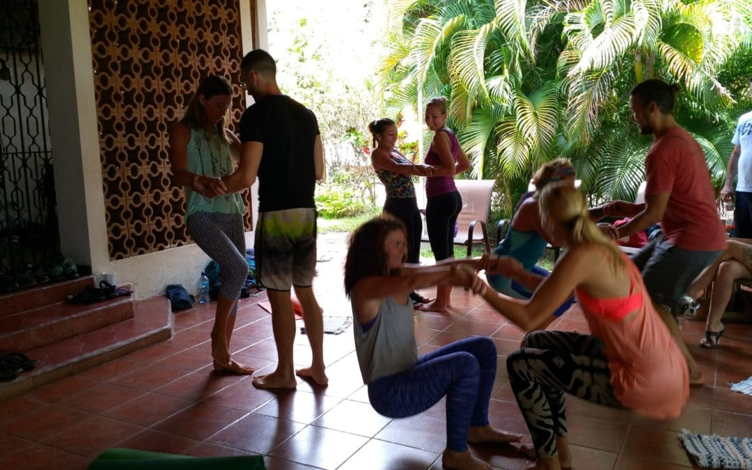 Acrobatic Yoga: Magical partner play or tangled mess?