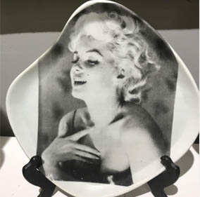 Marilyn Monroe Plate