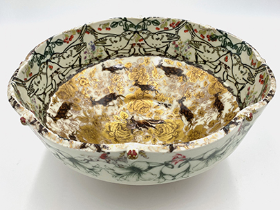 Hunt Bowl by Lisa Rogers