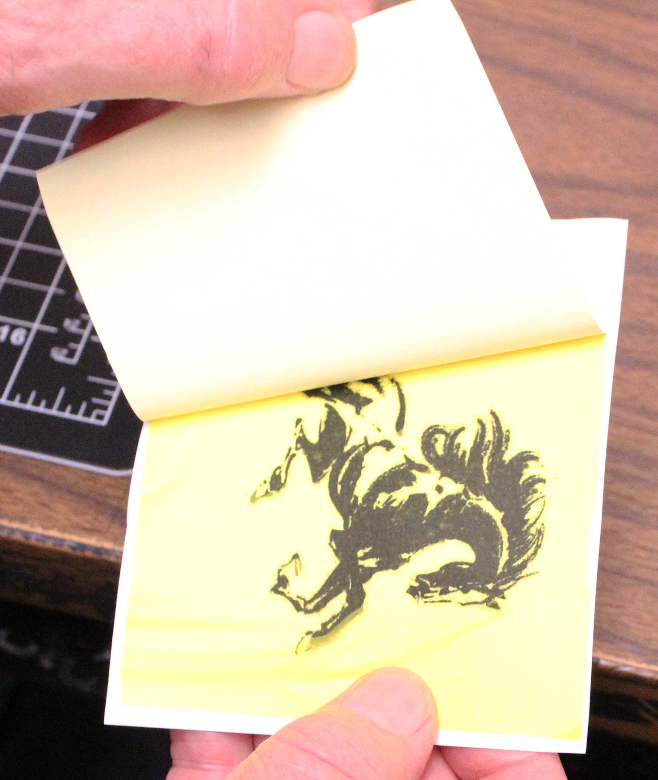 Ceramic decal lamination method