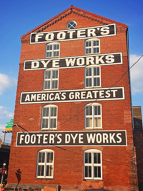 West Side of Footer Building Fully Restored