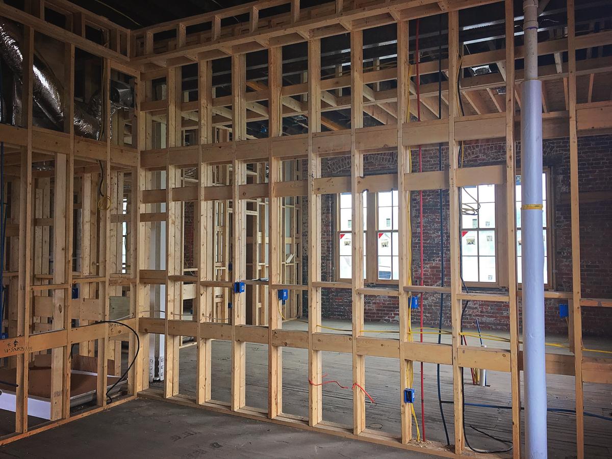 Loft Framing Nearing Completion