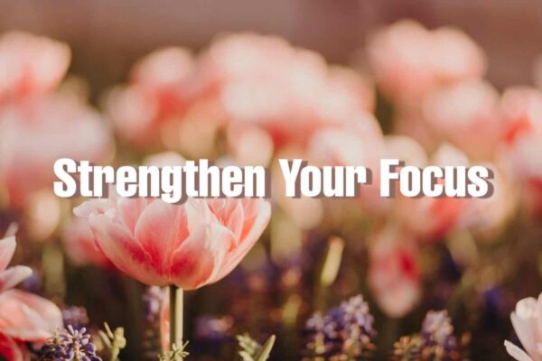 how to strengthen focus - a short story for personal growth