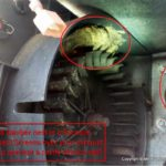 RV Furnace Mud Dauber Insect Damage