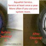 AquaHot Hydronic Heater Burn Chamber Maintenance