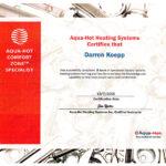 aquahot-training-certificate