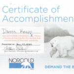 norcold-training-certificate