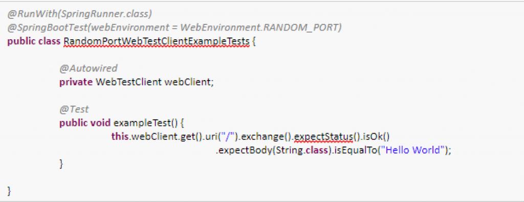 REST API | automated integration testing
