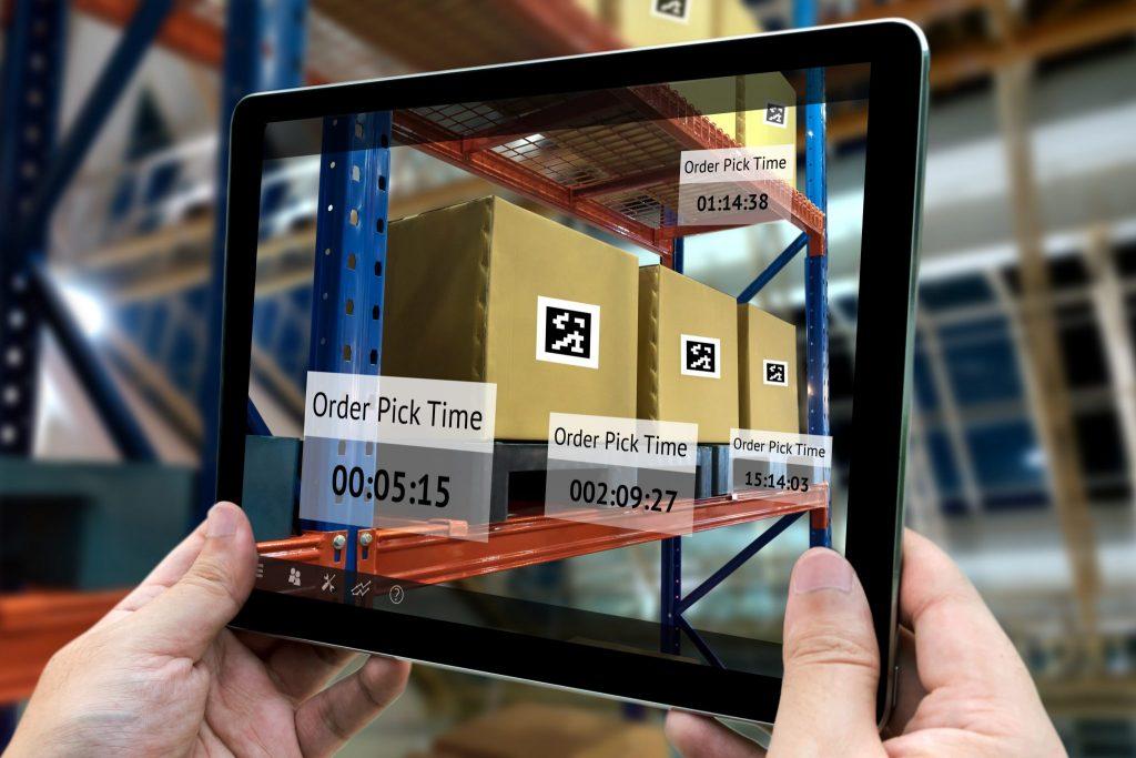 Augmented Reality App Development in Logistics