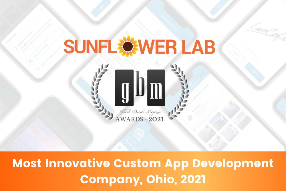 Most Innovative Custom App Development Company, Ohio, 2021