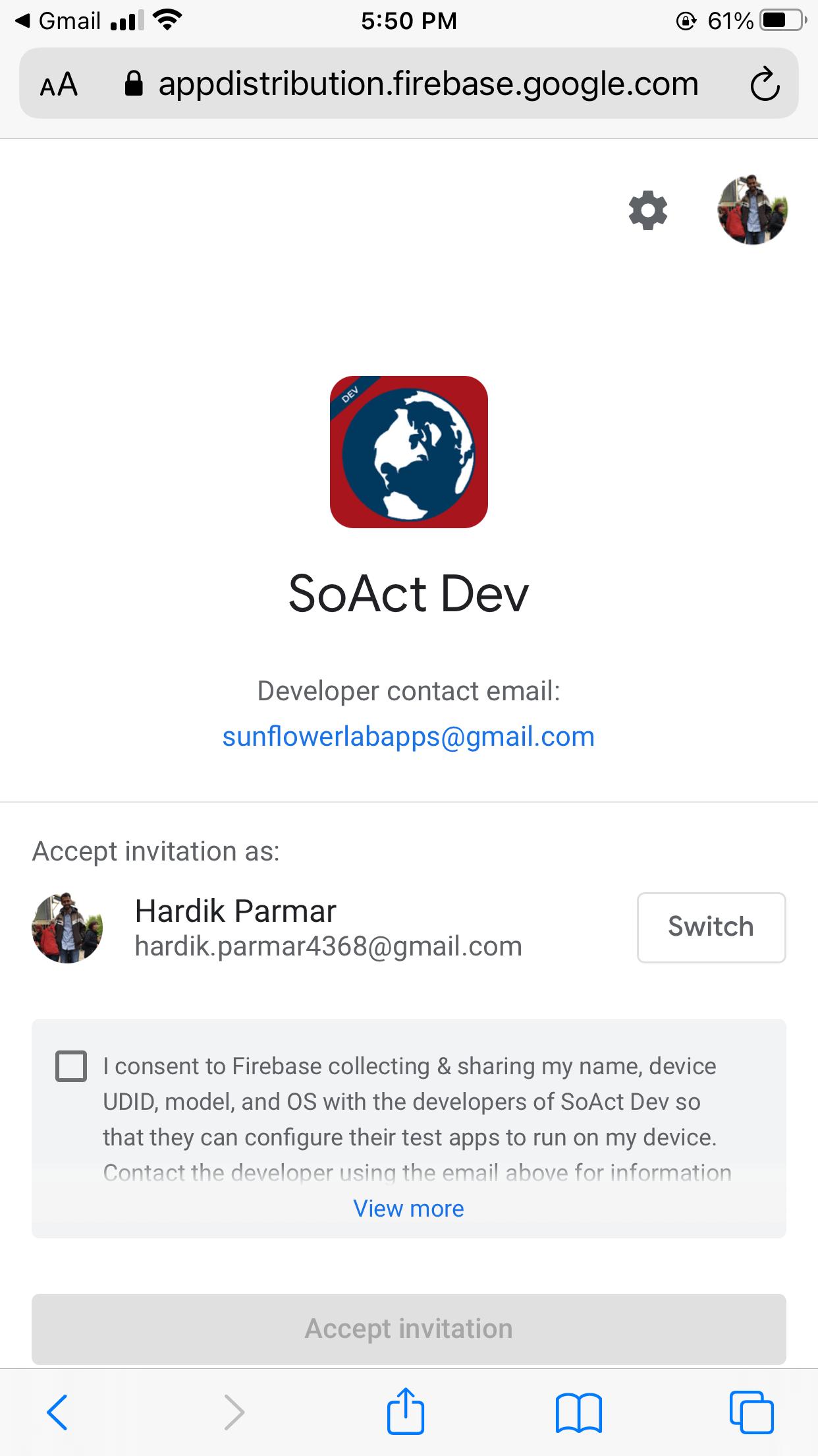 firebase app distribution ios 1