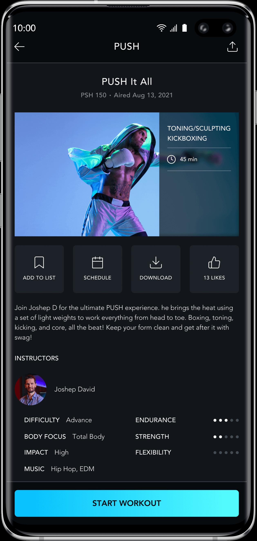wellness android & ios app development image