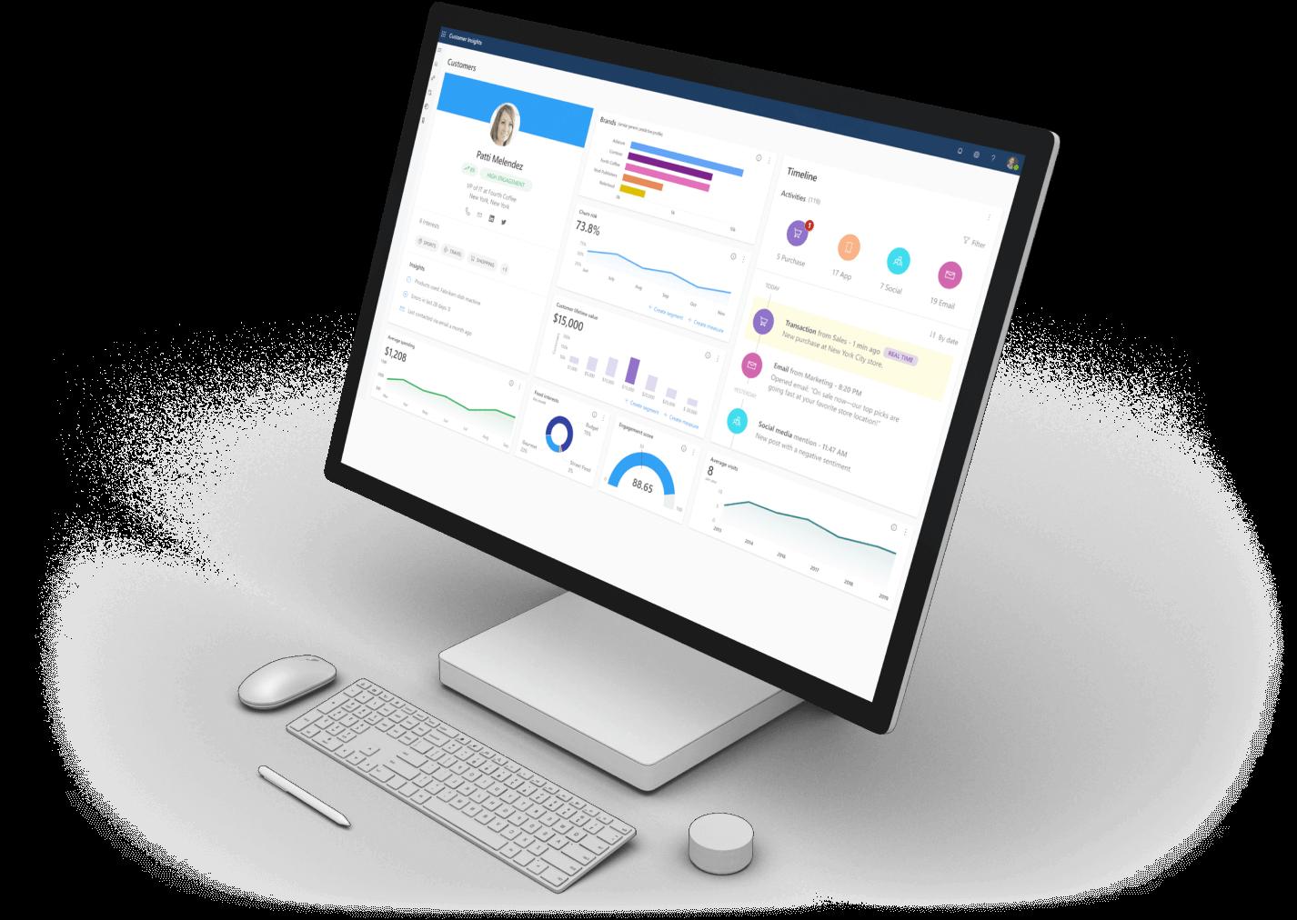 Customer Relation Ships ERP Software Image
