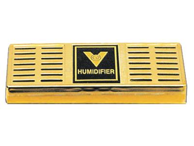 "$7.99 – Gold Humidifier – 6.5""x2.5"" 75 Cigars"