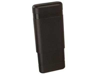 plastic 3 cigar case 52 gauge cigars tube accessory