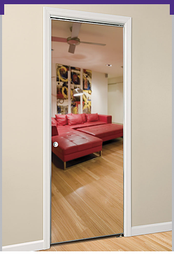 Series 10 Swing Mirror Door