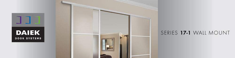 wall mount sliding glass door series 17-2