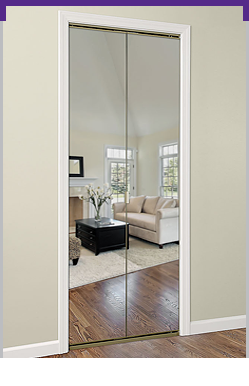 Series 4002 Bifold Mirror Door
