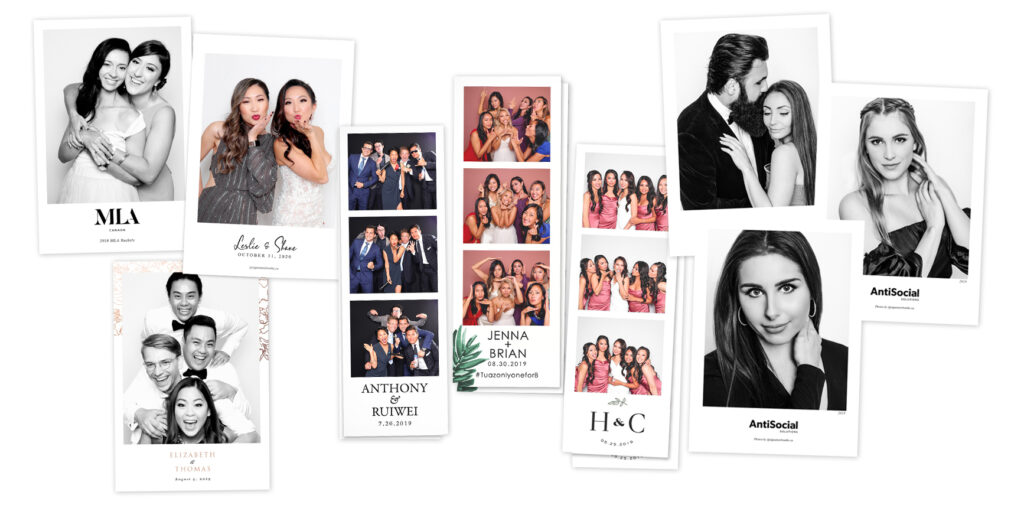 Signature Booths Vancouver Photo Booth Prints