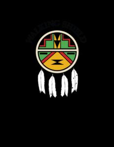 Walking Shield Logo With Tagline