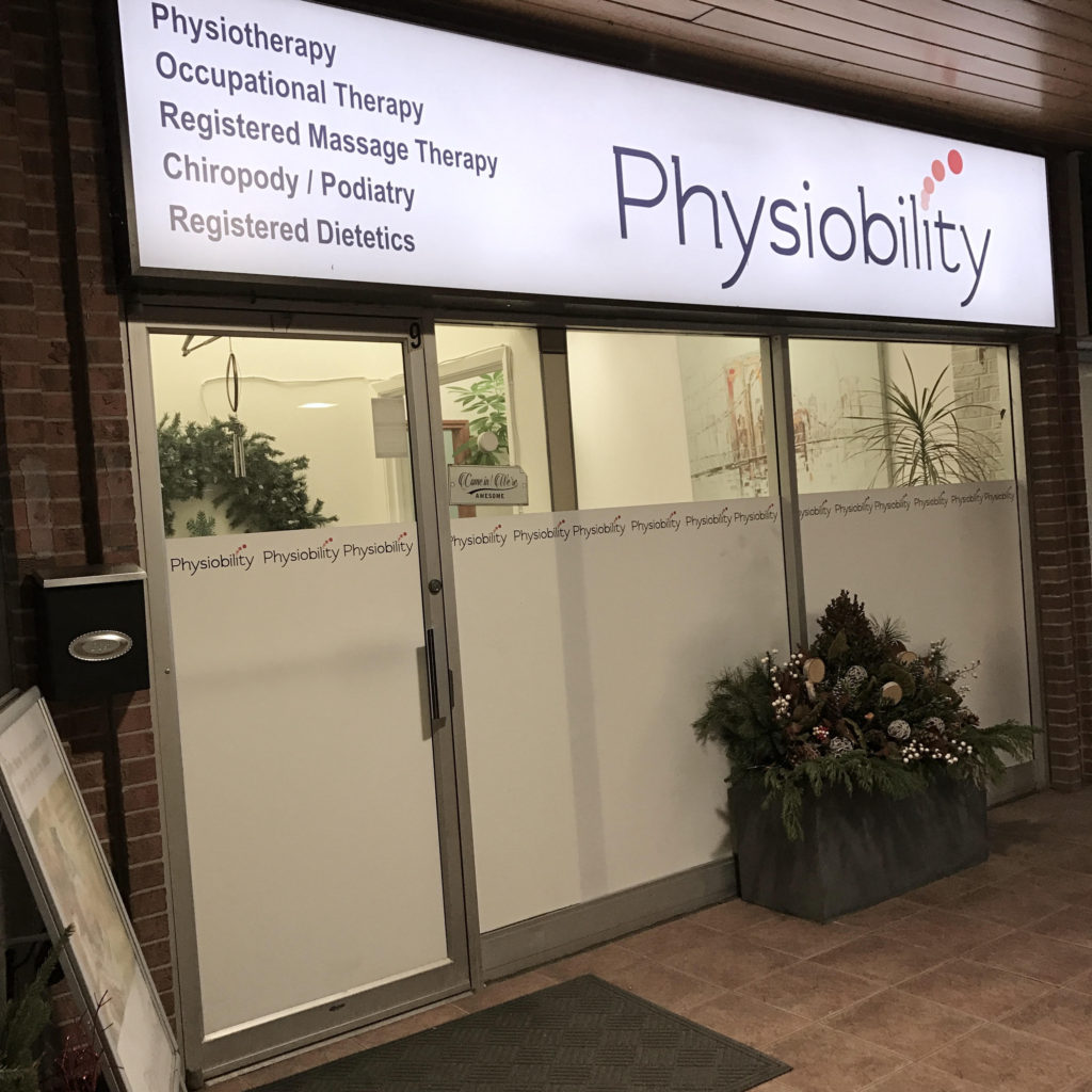 Markham Physiotherapy | Physiobility. Clinic Picture