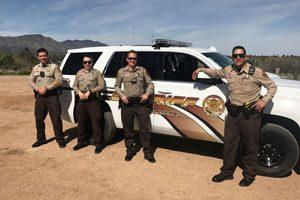 Deputy Sheriff and Recruit