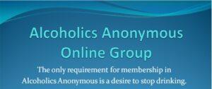 AA Meetings online