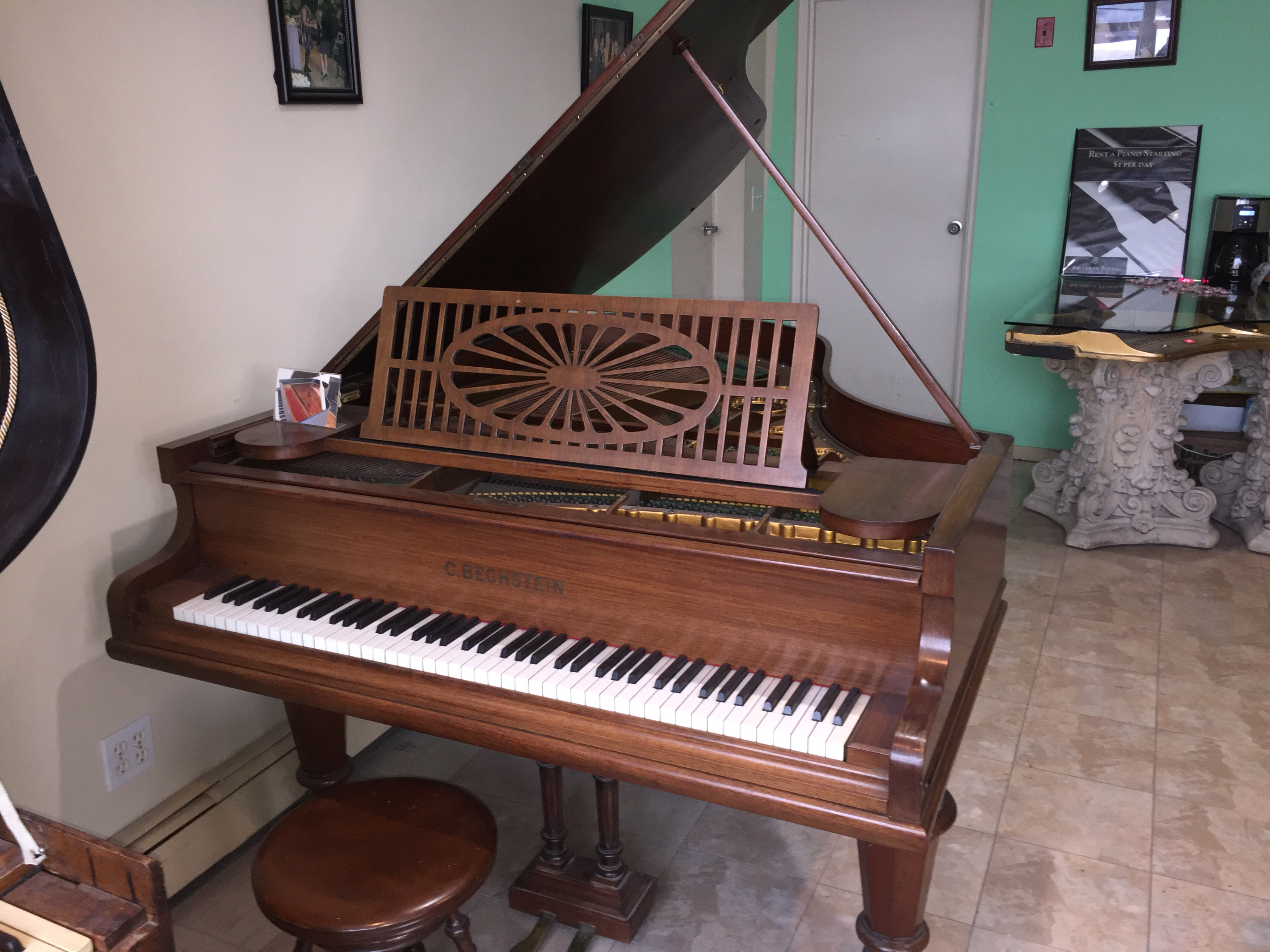 Bechstein Model A antique Grand Piano y1919