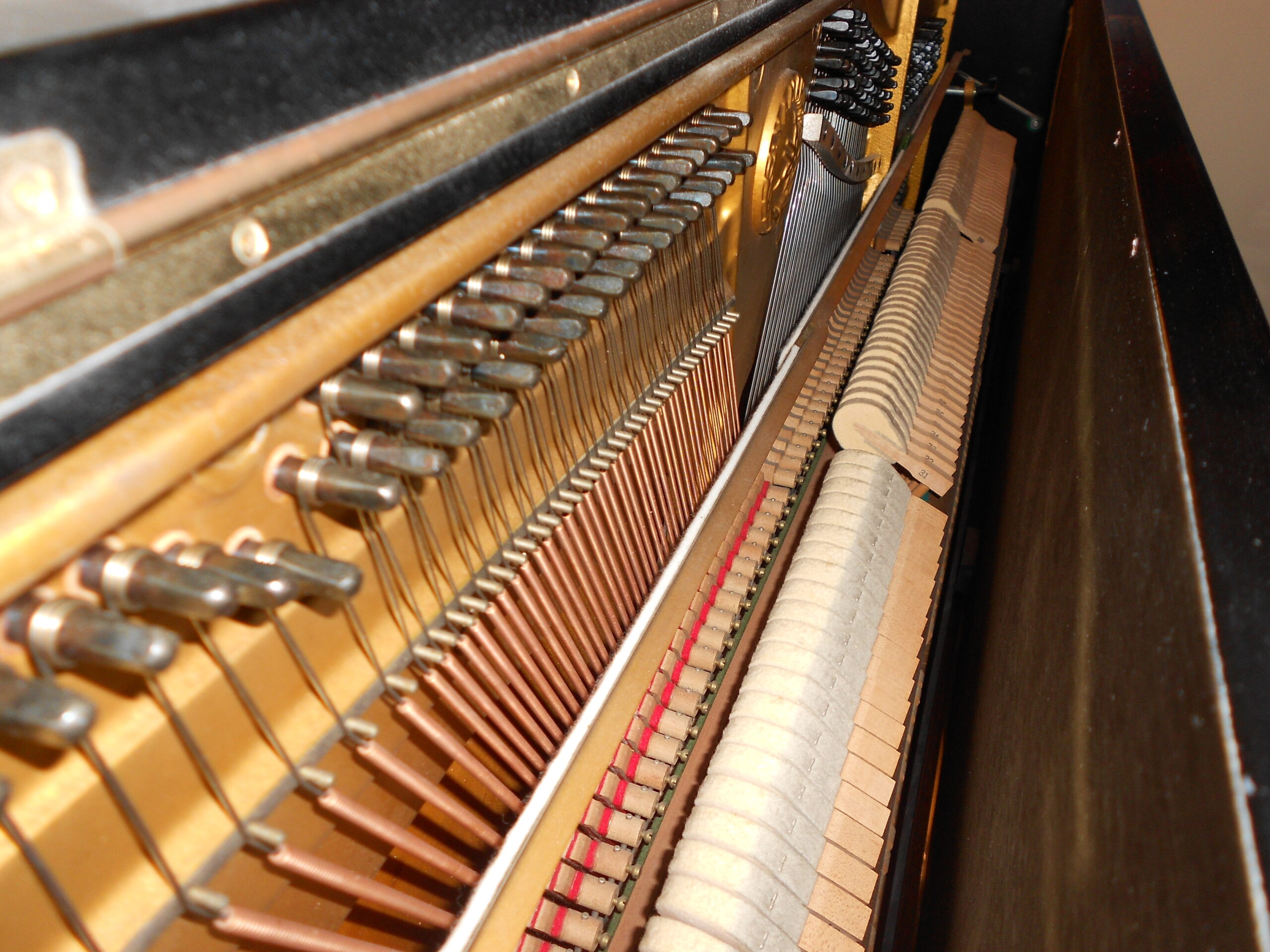 Yamaha U2 Upright Piano Amadeus