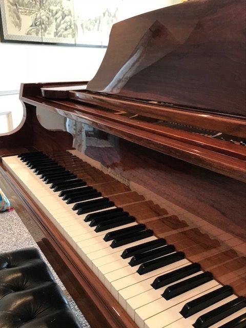 Otto Altenburg Grand Piano Walnut