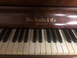 Wm. Knabe Art Deco Upright Piano