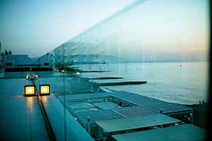 Glass handrails systems