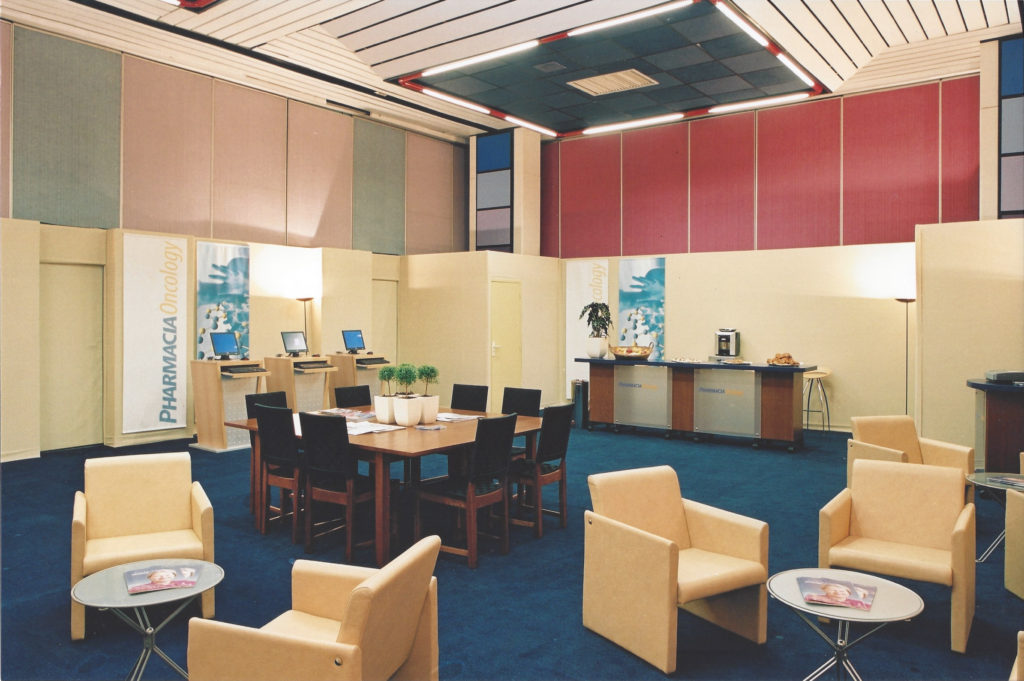 Hospitality Suite for Pharmacia Oncology | Pfizer27th ESMO Congress, Nice, France, 18-22 October 2002