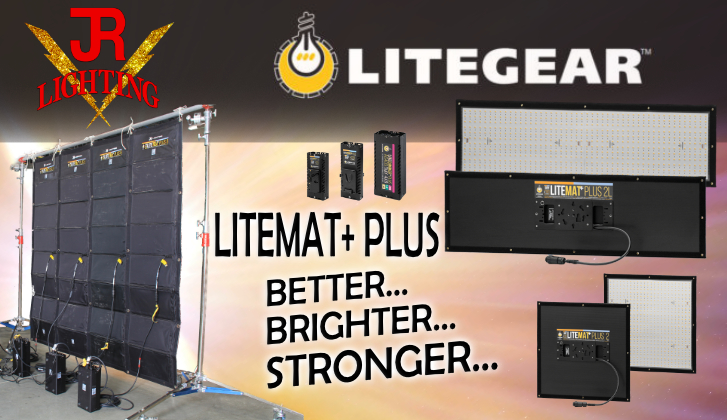 JR Lighting and Grip Rental Las Vegas | Home Slider Image | LiteMat+ PLUS