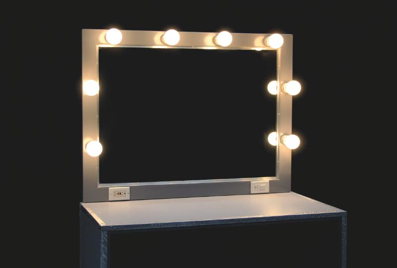 Back Stage Makeup Table Rentals Las Vegas   JR Lighting