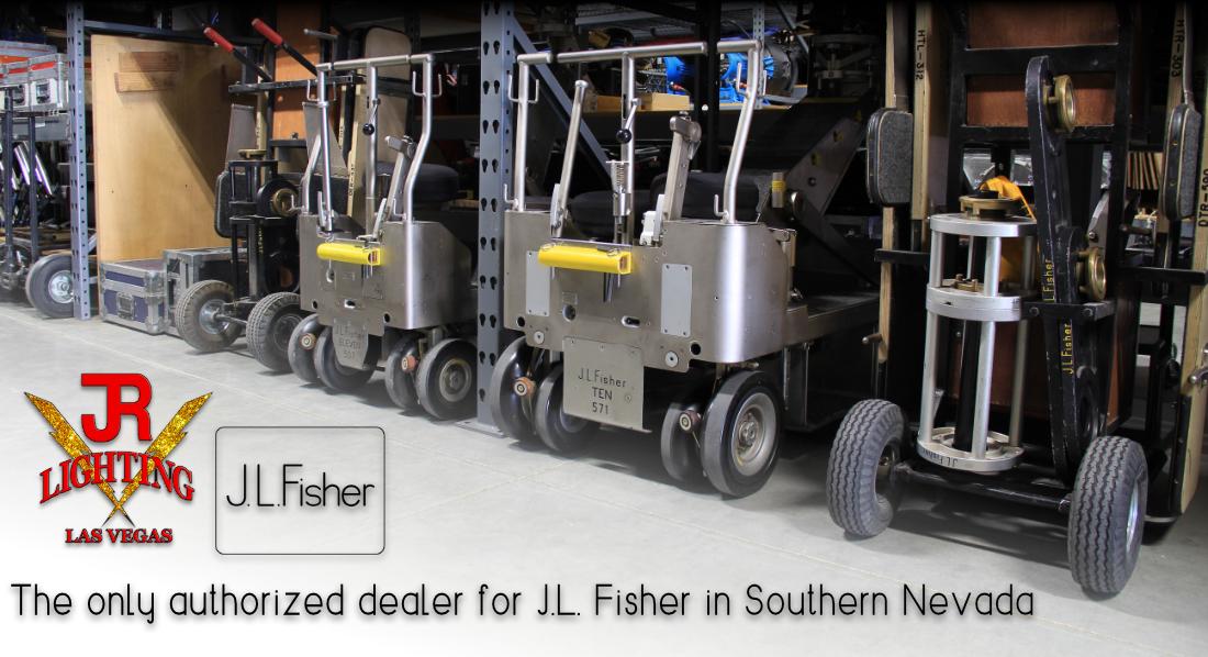 JL Fisher Camera Dolly Rental - JR Lighting Las Vegas