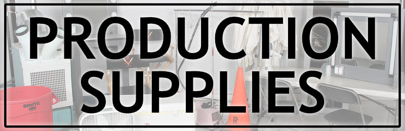 Button Linking to Production Supplies for Rent | JR Lighting & Grip Rental Las Vegas