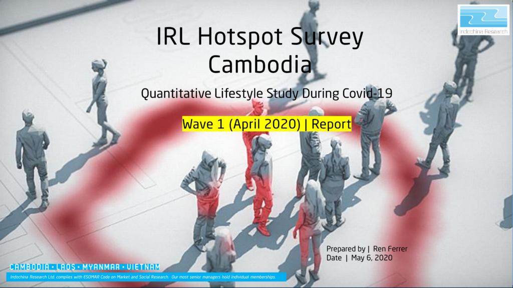 Impact of Covid-19 in Cambodia – Wave 1 (April 2020)
